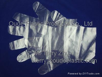 Disposable HDPE Gloves 3
