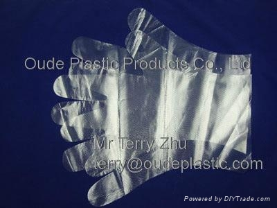 Disposable HDPE Gloves 1