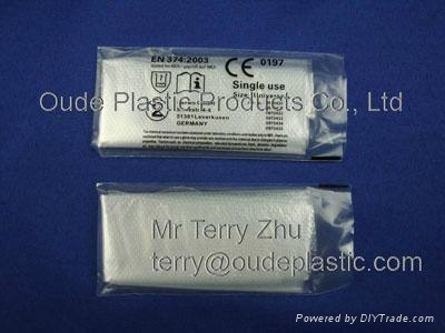 Disposable CPE gloves 2