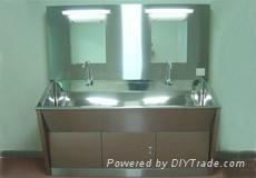 不鏽鋼洗手池