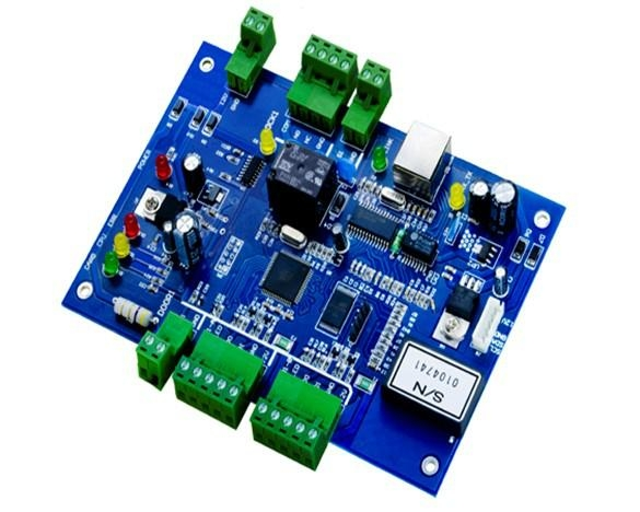 JLD201B-N   工业级单门双向门禁控制器 1