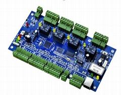 JLD204S-N   工业级四门单向门禁控制器