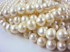 AAA size8~9mm fresh water Pearl Necklace