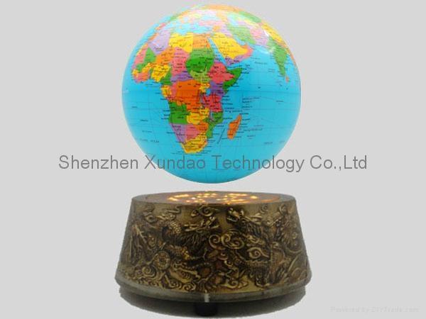 "Magnetic Levitation Globe8"" 2"