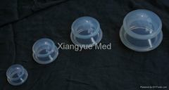 Silicon cupping set