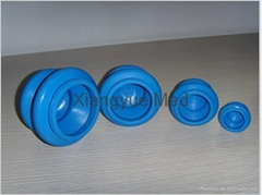 Rubber cupping set
