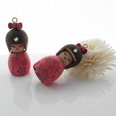 日本娃娃挂飾