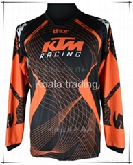 KTM motorcycle jersey MTB offroad ATV MX riding cycling bicycle motorbike