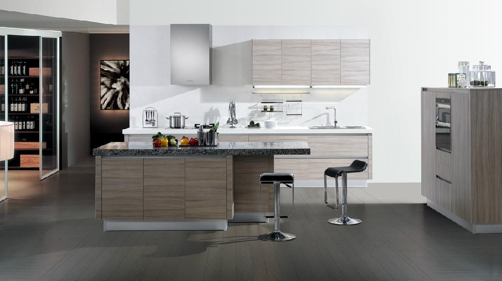 Kitchen cabinet laminate finishes china manufacturer for A one kitchen cabinets ltd
