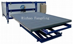 one-step laminated glass machine easily processing