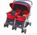 Popular Design Double Baby Stroller