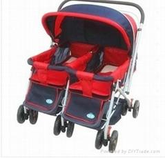 Popular Design Double Baby Stroller (912-3)