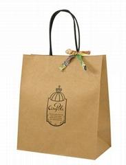 rigid and Eco shopping paper bag