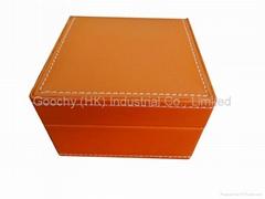 leather watch box single watch display box watch storage box gift box for watch