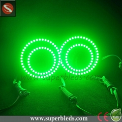 full circle/semi circle rings 80mm 90mm rgb angel eye led halo