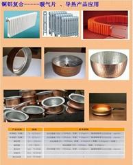 铜铝复合导热材料