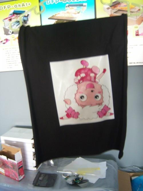 T恤  平面打印机 5