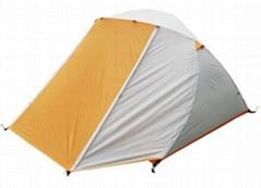 牧羊犬手動折疊雙人雙層帳篷