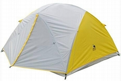 牧羊犬手动折叠3-4人双层帐篷