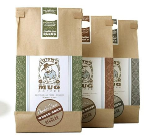 Kraft Paper Coffee Bag 1