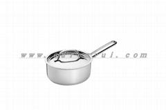高級不鏽鋼奶鍋單柄煲