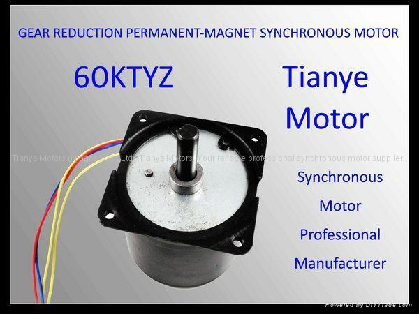 Synchronous motor 60ktyz lamination machine motor tianye for Ac synchronous motor manufacturers