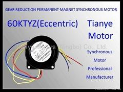 Gear Motor TYD59 ECCENTRIC SHAFT SPEED CUSTOMIZED