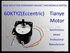 Reversible Motor TYD-60 ECCENTRIC SHAFT 8W 14W 20W