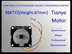 Low Power Motor 3BTYZ SPECIAL 60 MOTOR CUSTOMIZED SHAFT