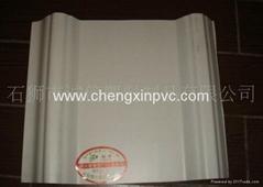 PVC anti-corrosion trapezoidal