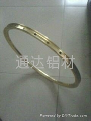 6063氧化拉絲鋁合金