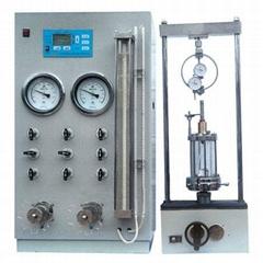 Manual loading Triaxial testing machine