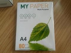 supply A4 size (21*29.7cm) 80g copy paper