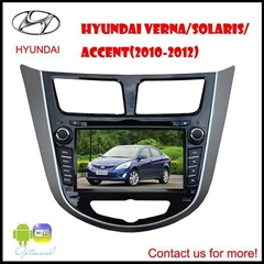Hyundai Verna car dvd bluetooth tv gps 3G Player (android optional)