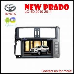 Toyota Prado LC 150 car