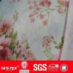 printed waterproof 4way stretch fabric