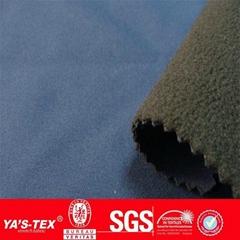 nylon spandex windproof softshell jackets fabric