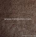 Bronzing fabric