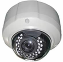 2.0 Megapixel Remote Focus and Zoom Vandal Proof IR 30m Dome IP Camera