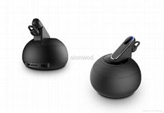 3-in-1 bluetooth speaker+bluetooth headset+2,500MAH Power bank