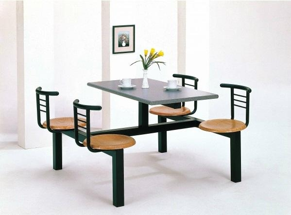 Fast food table and chair taiwan manufacturer dining