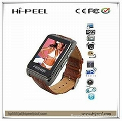 1.8 inch TFT touch screen Quad-bands smart watch mobile phone