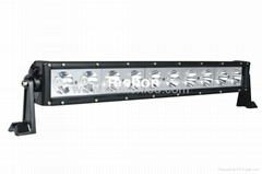 100W 22.8 inch single row LED off-road light bar for ATV, UTV