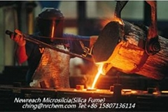 Microsilica silica fume in refractory products