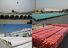 FRP pipe for water treatment