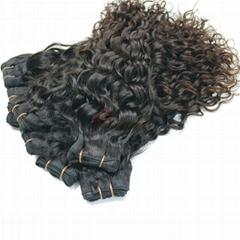 High quality remy hair product human european virgin hair weft