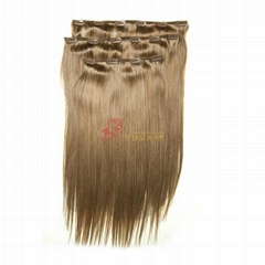 wholesale 100g-200g hot selling fast shipping clip in hair