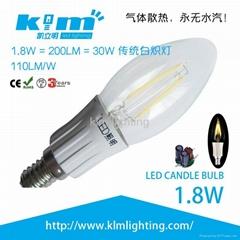 LED 1.8w 技术创新的LED灯丝球泡灯