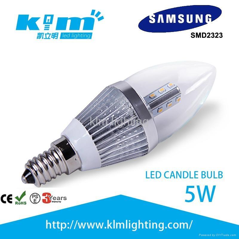 LED 1.8w COB Filament Candle Bulb 220v 4