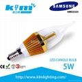 LED蜡烛灯可调光5W 1